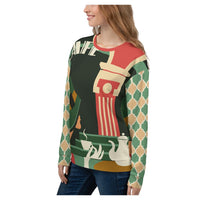 Cafe Deluxe Sweatshirt - WhimzyTees