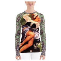 Afternoon Delight Rashguard, Rashguard- WhimzyTees