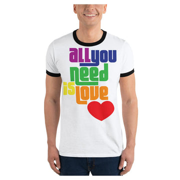 All You Need is Love Ringer Tee