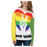 Love Wins Sweatshirt - WhimzyTees