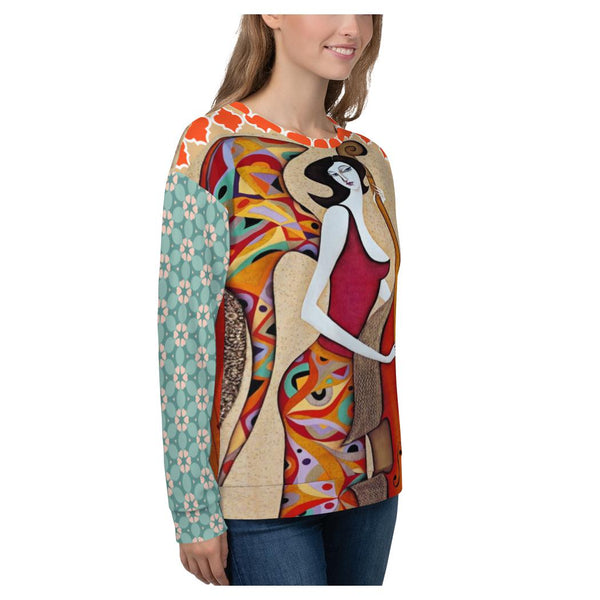 The Cellist Sweatshirt - WhimzyTees