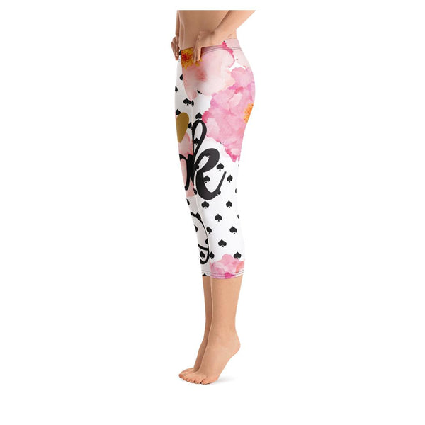 Thank You NEXT Capris, Leggings- WhimzyTees