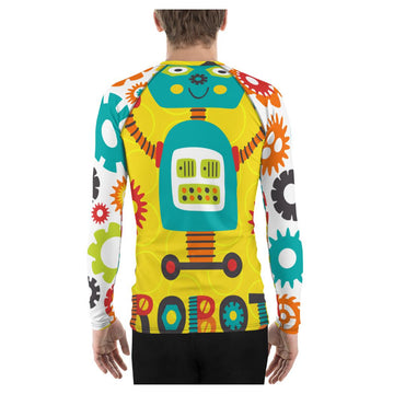 Leroy Robot Rash Guard