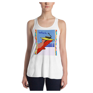 Relax Go To IT! Racerback Tank