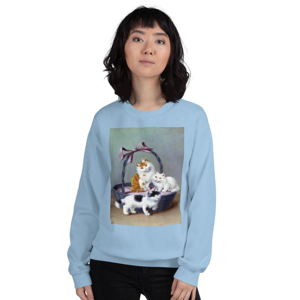 The Gift Basket HD Sweatshirt, Sweatshirt- WhimzyTees