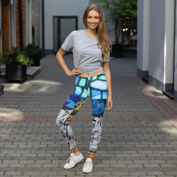 Indigo Girl Leggings