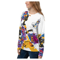 Senegalese Dreams Sweatshirt, Sweatshirt- WhimzyTees
