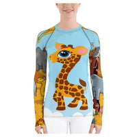 Zoo Party Rash Guard - WhimzyTees