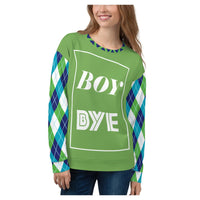 Boy BYE Aventurine Sweatshirt - WhimzyTees