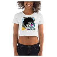 Rave Girl Crop Tee - WhimzyTees