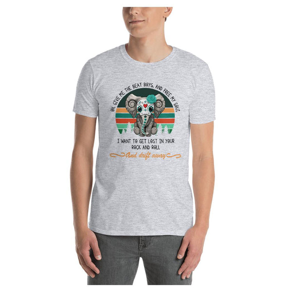 Elephant Beat Drum Tee - WhimzyTees