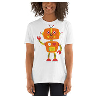 Sydney the Robot Tee, Tee- WhimzyTees