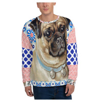 Jingle Pug Sweatshirt - WhimzyTees