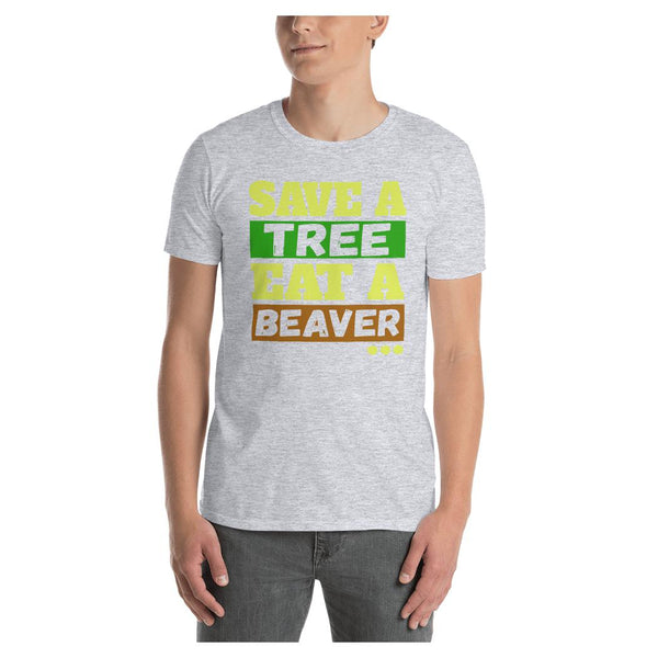 Eat a Beaver Tee, Tee- WhimzyTees