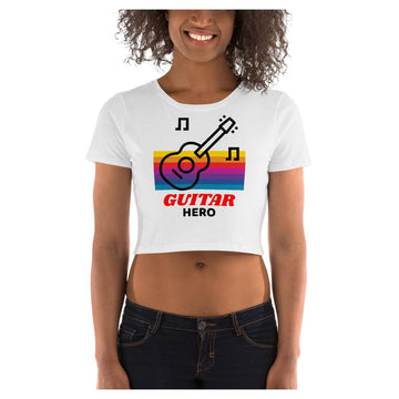 Guitar Hero Crop Tee