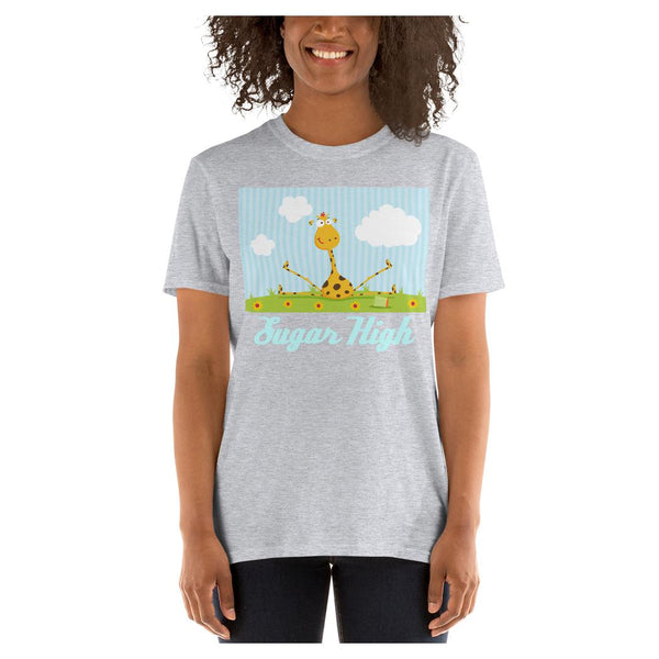 Sugar High Giraffe Tee, Tee- WhimzyTees