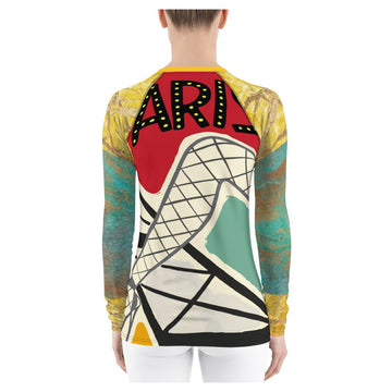 Paris Folies Rash Guard