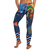 Exhuberation Leggings, Leggings- WhimzyTees