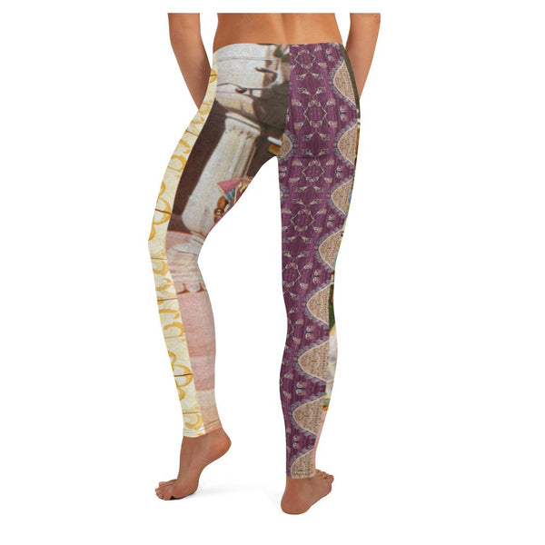Temple Dance Leggings, Leggings- WhimzyTees