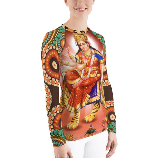 Divine Durga Rash Guard - WhimzyTees