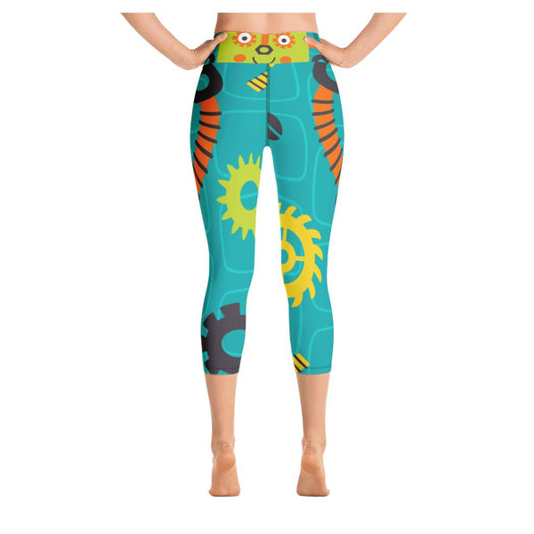 Timmy Yoga Capris, Leggings- WhimzyTees
