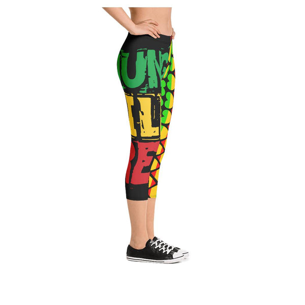 Young Wild Free Capris - WhimzyTees