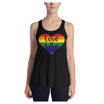 LOVE is LOVE Racerback Tank