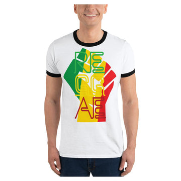Reggae Power Ringer Tee