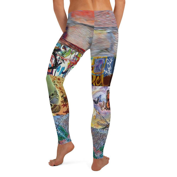 Vesuvia Leggings, Leggings- WhimzyTees