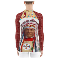 Power to the Chief Rashguard, Rashguard- WhimzyTees