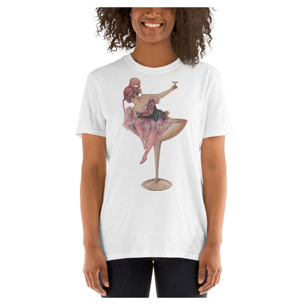 Champagne Girl Tee - WhimzyTees
