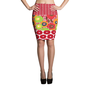 The Clash Pencil Skirt