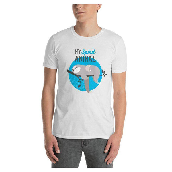 Sloth Spirit Animal Tee (Unisex), Tee- WhimzyTees