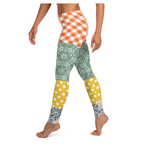 Le Gaulois Leggings, Leggings- WhimzyTees