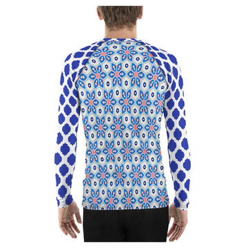Jingle Pug Rashguard (Mens)
