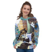 Morning Glory Hoody, Hoody- WhimzyTees