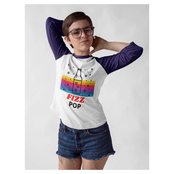 Fizz Pop Baseball Tee - WhimzyTees