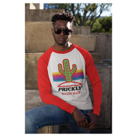Prickly Cactus Baseball Tee, Baseball Tee- WhimzyTees