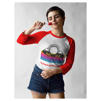 Camp Rimrock Baseball Tee, Baseball Tee- WhimzyTees