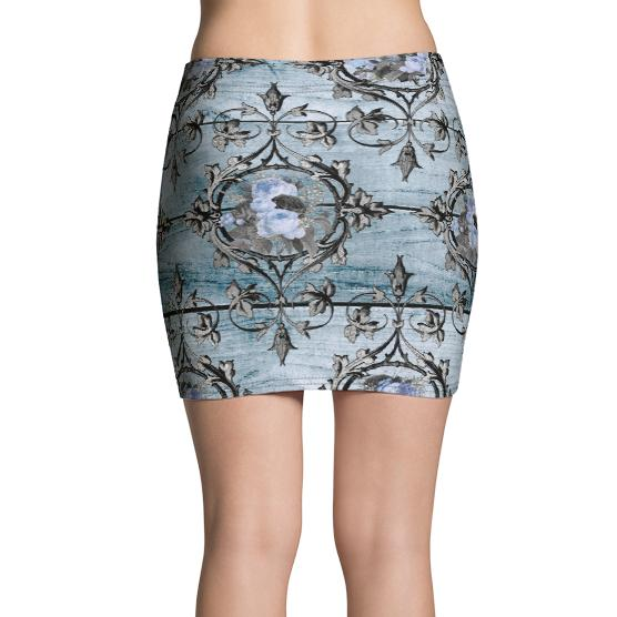Sacred Heart Mini Skirt, Skirt- WhimzyTees