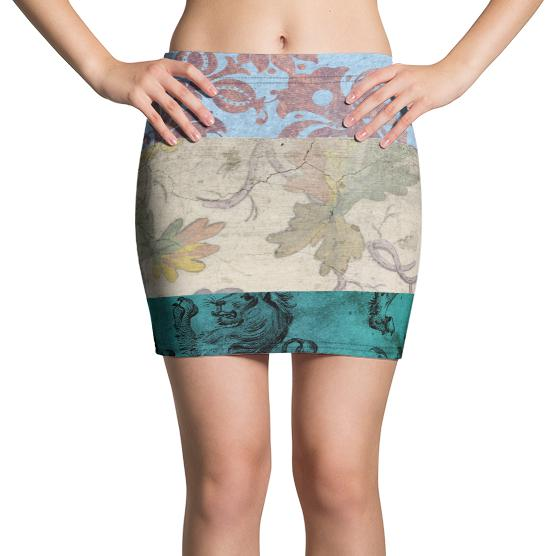 Shiva Mini Skirt, Skirt- WhimzyTees
