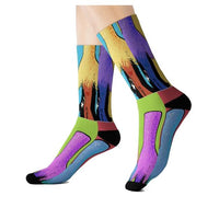 Tahiti Girl Calypso Socks - WhimzyTees