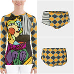 The Cubist Rashguard - WhimzyTees