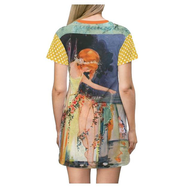 Twilight Fairy T-shirt Dress - WhimzyTees
