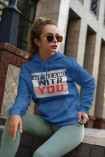 We Stand With You Hoody, Flipit Red- WhimzyTees