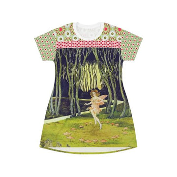 Woodland Fairy T-shirt Dress