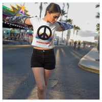 Woodstock Crop Tee, Crop Tee- WhimzyTees