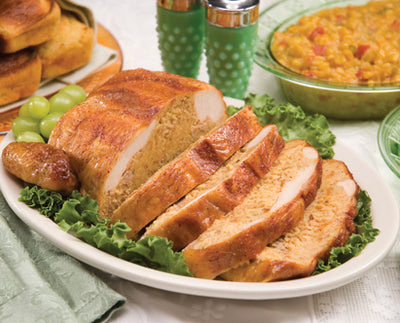 Stuffed Chicken with Cornbread & Pork Dressing - CajunSpecialtyMeats.com