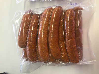 Family Sized- Andouille 5 LBS.  #913 - cajunspecialtymeats