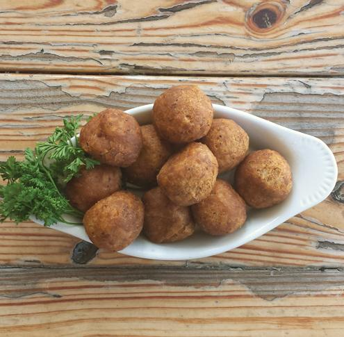 Family Sized- Boudin Balls 160 ct. Case - cajunspecialtymeats